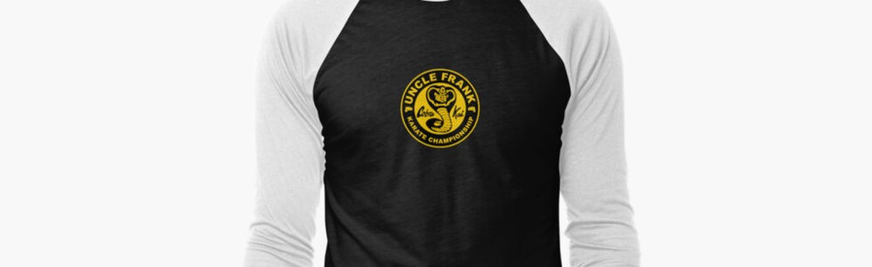 Karate School-baseball-¾-sleeve-t-shirt.