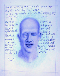 """"""" Mark is …"""""""