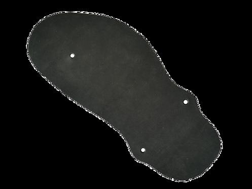 Geniale Sandale Bio-Leder Coal