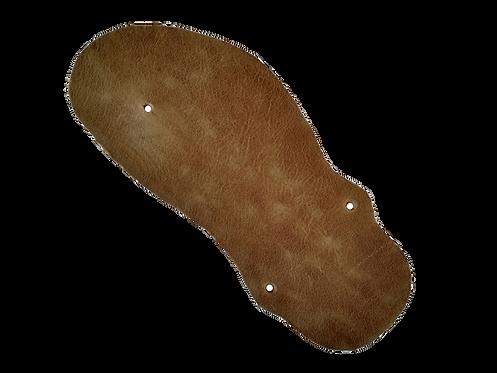 Geniale Sandale Bio-Leder Hazelnut
