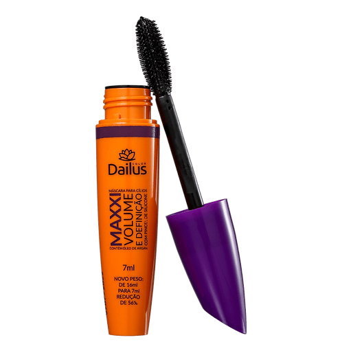 Dailus 03 Maxxi Volume e Definição - Máscara p/ Cílios 7 ml