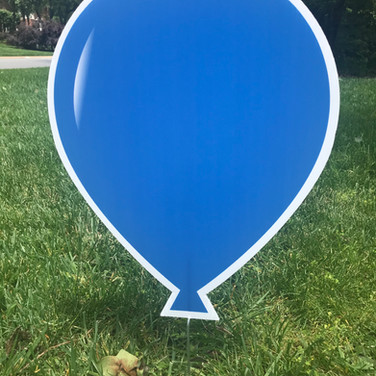 Royal Blue Baloon