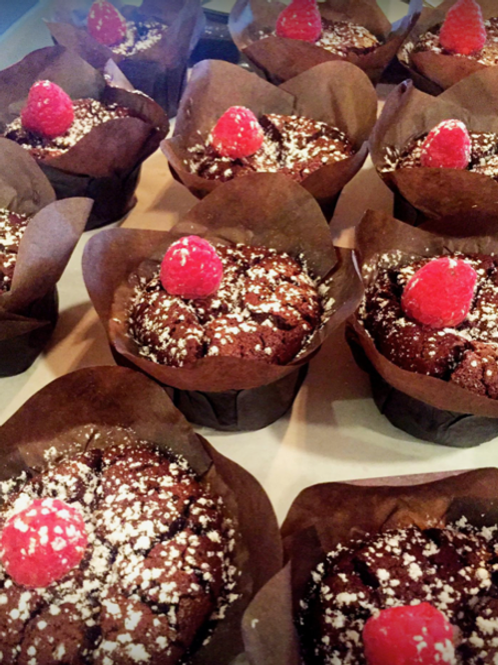 Flourless Chocolate Cupcakes (4)