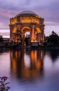 Golden Hour at Palace of Fine Arts