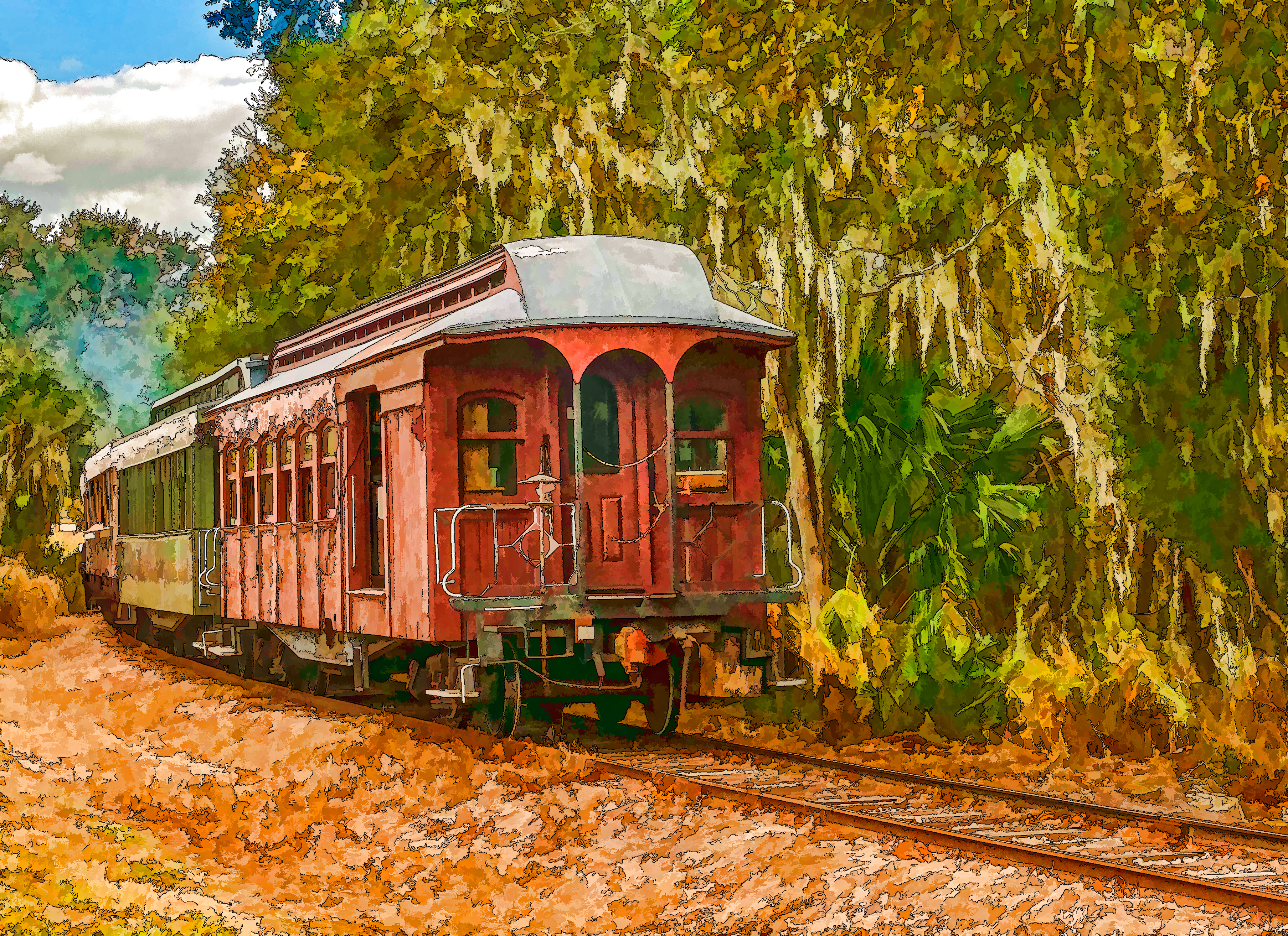 Cannonball Caboose
