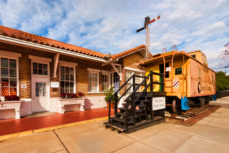 Heritage Foundation Caboose