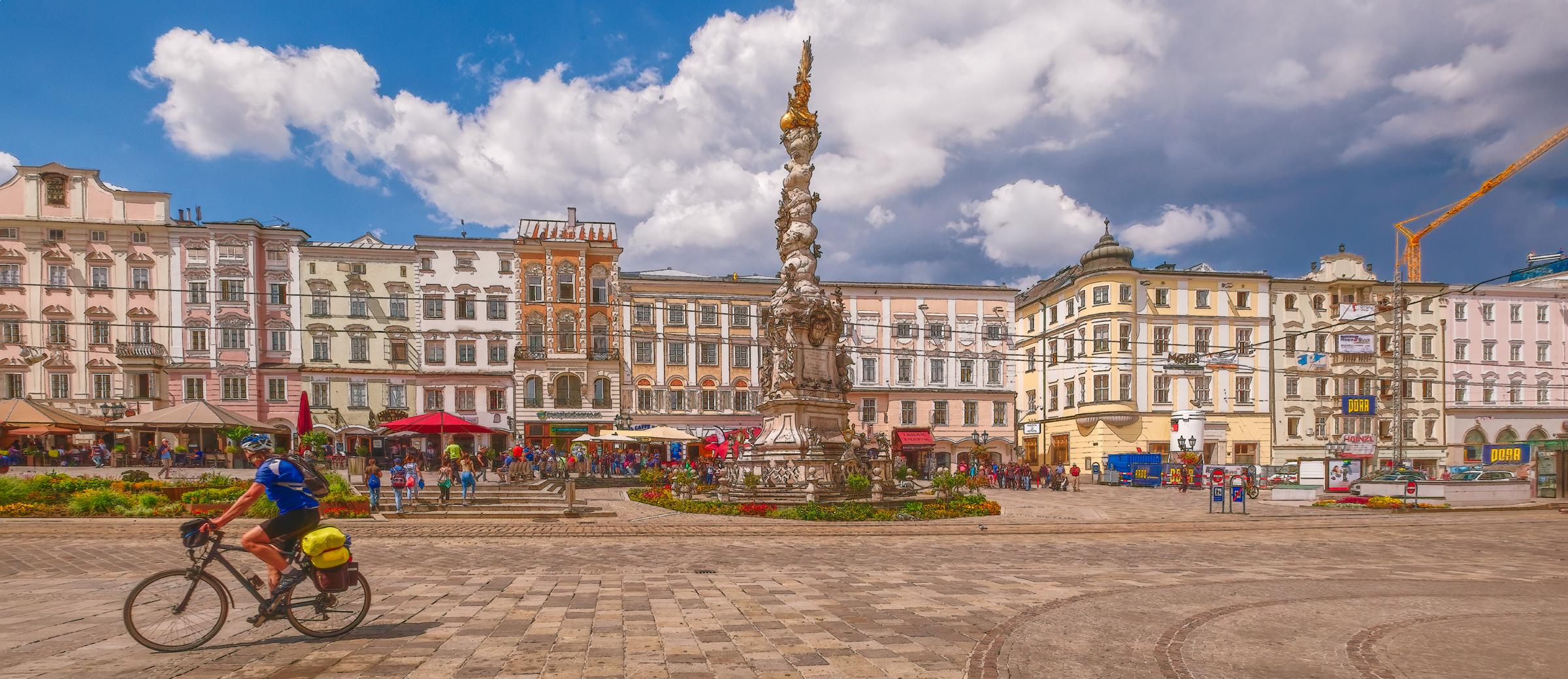 Linz, Austria Plaza