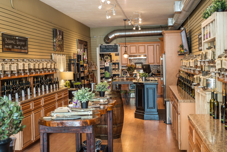 Olive Oil Tasting Room