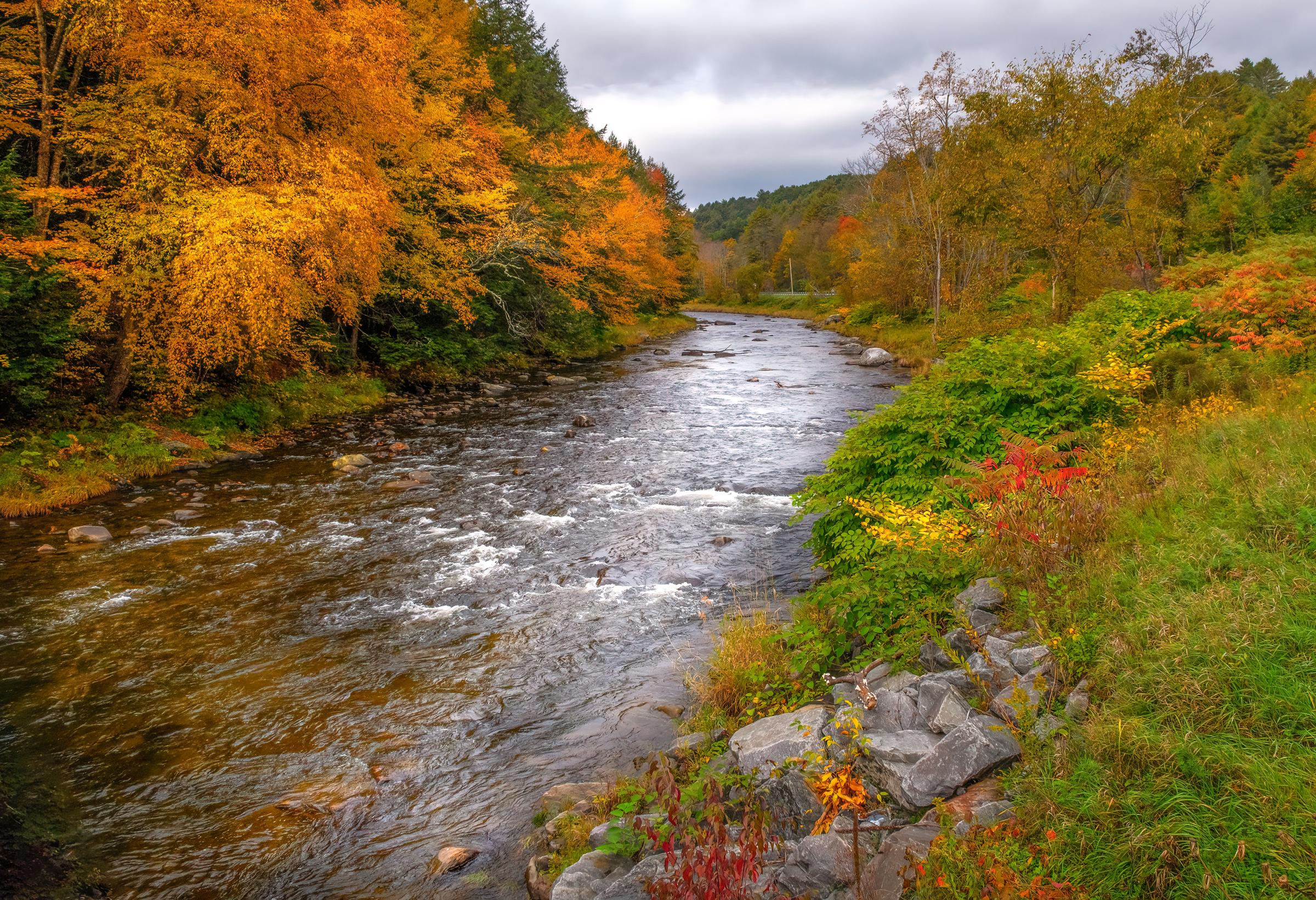 Vermont Creek in Autumn