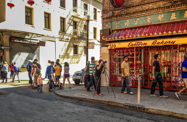 Photographing Chinatown