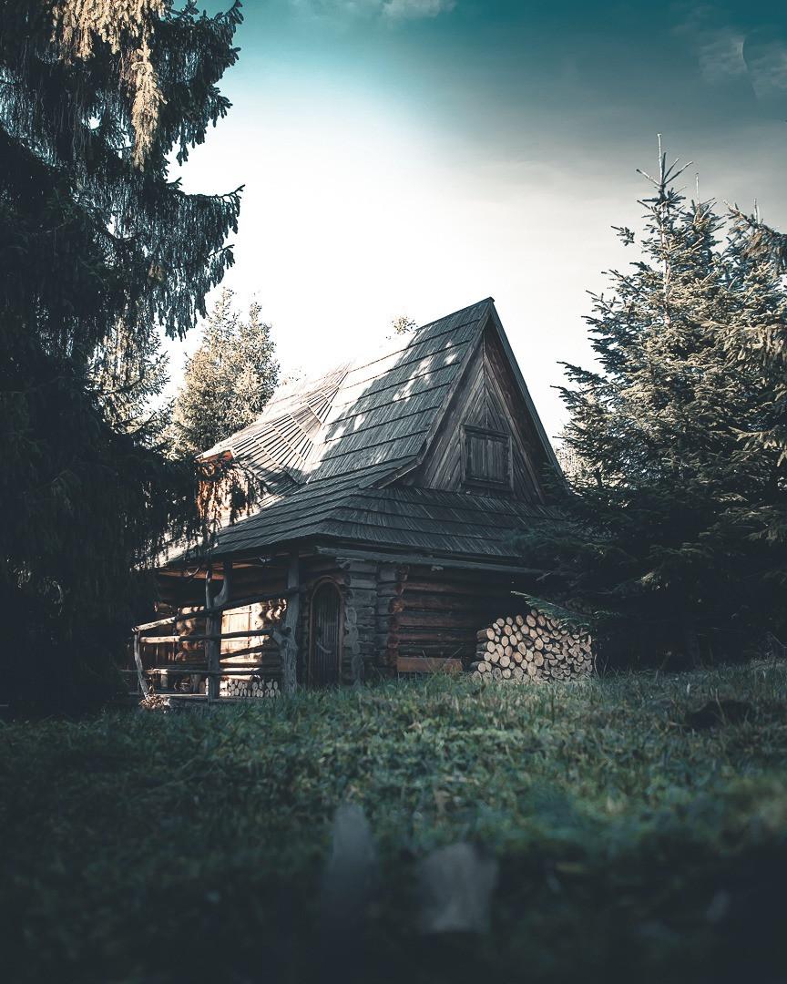 Chata w Gorcach