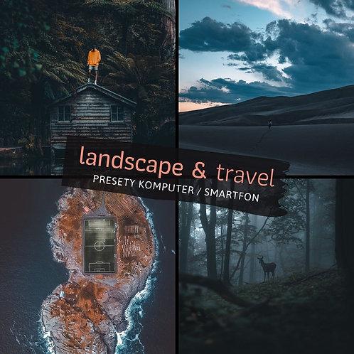 LANDSCAPE & TRAVEL - Set Presetów na Komputery i Smartfony