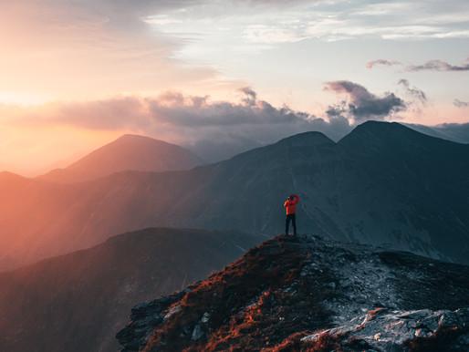Kozackie zdjęcia w górach