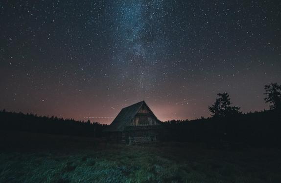 Tramwaje i gwiazdy... czyli pomysły na nocne foty