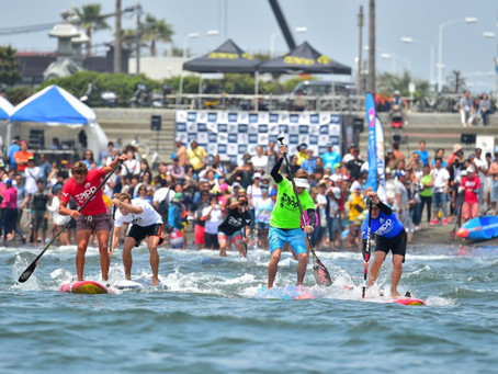 PACIFIC PADDLE GAMES' POINTS COUNT TOWARD APP WORLD TITLE