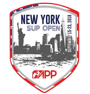 New York SUP stand up paddleboarding event racing, yoga, family fun, APP event