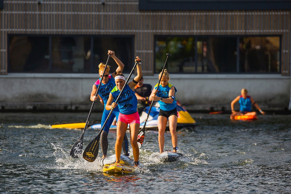 London SUP Open, Womens, Race, ISA, APP World Tour, 2018,  Manca Notar