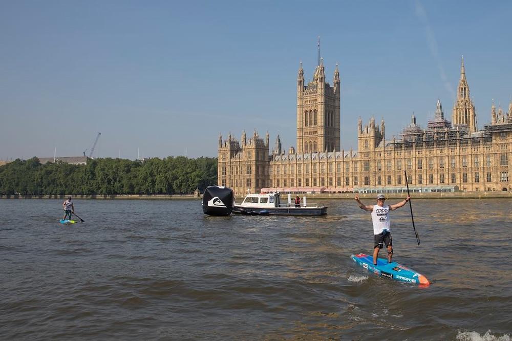London SUP Open APP ISA World Tour 2018, Paddleboard racing, london