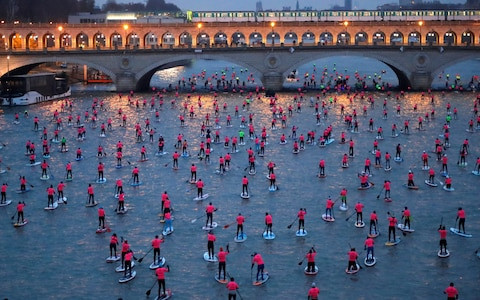 PARIS SUP OPEN 2018: THE LARGEST SUP RACE ON THE PLANET?