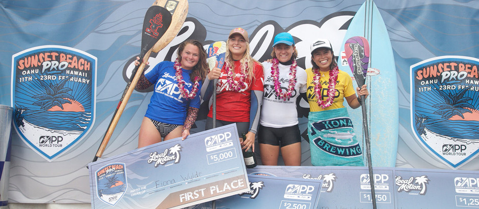 FIONA WYLDE WINS THE 2019 SUNSET BEACH PRO