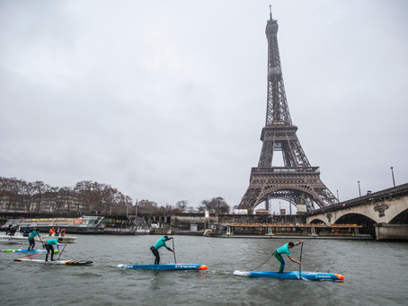 The History of the Iconic Nautic Paddle down the River Seine