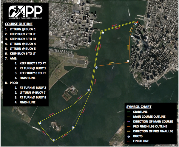 New York Race Map