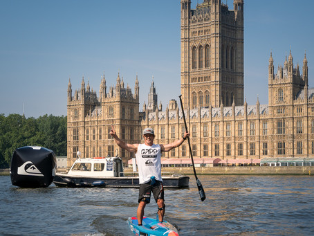 The London SUP Open to kick off the 2019 APP World Tour Racing Season in style this weekend