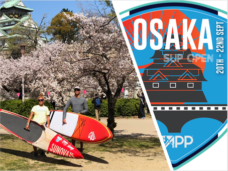 Osaka to host the World's best SUP athletes this weekend Stop #3 of APP World Tour Racing