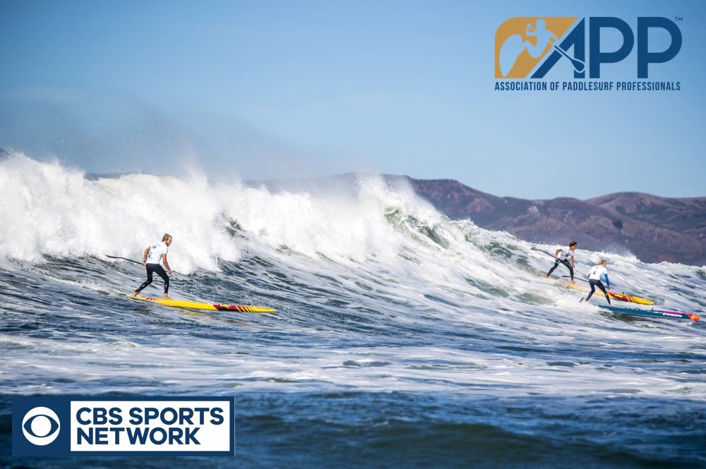 APP World Tour, Contest, paddle boarding, paddle board, CBS sports, TV, Media