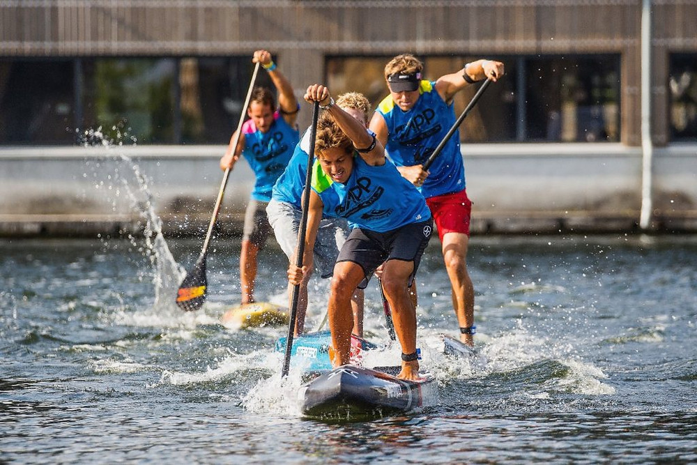APP World Tour, Kai Lenny, Paddleboard, Paddle Board, SUP, APP, New York, Contest, Race
