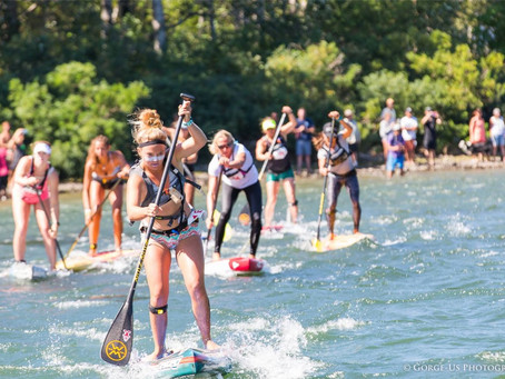 APP's North America leg comes to life with SIC Gorge Paddle Challenge Qualifier & New York SUP Open
