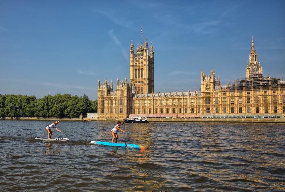 London SUP Open APP World Tour 2018 Racing Paddleboard SUP Women Pro Race