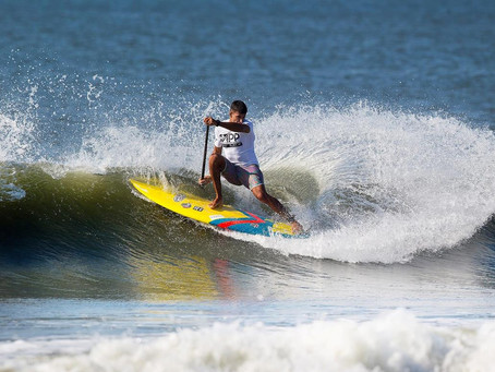 DAY 1 OF SUP SURF COMPETITION IN LONG BEACH SHOWCASES WORLD CLASS TALENT