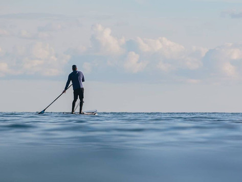 Brendon Prince in bid to Be The first Person to Stand Up Paddle Around Great Britain