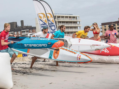 Casper Steinfath & Seychelle Websiter Claim Victory for NY SUP Open Pro Sprint Competition