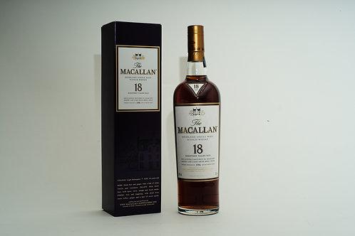 Macallan 18 Years (Sherry Oak)
