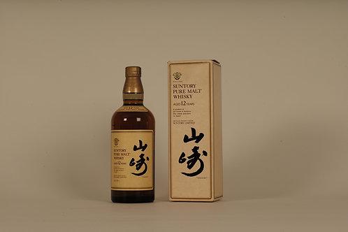 Suntory Yamazaki 12 Year Old (Paper Box - Old Version)