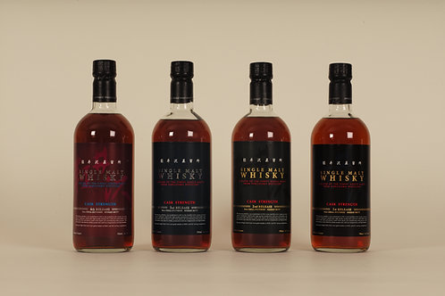 Karuizawa Cask Strength 1st, 2nd, 3rd and 4th Release SET