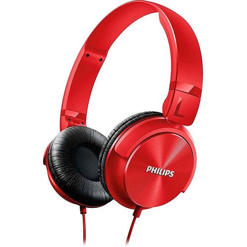 Fone de Ouvido Philips SHL3060RD/00 Over Ear Vermelho