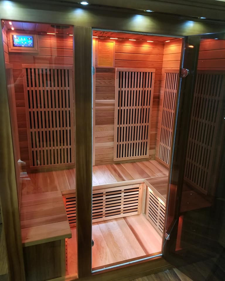 Fit N Tan Salon and Spa Infrared Sauna