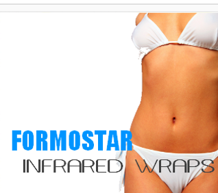 Fit N Tan Salon and Spa Formostar Infrared Wrap - Lose weight - Inch loss - Pain Management