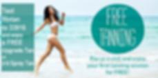Fit N Tan Salon and Spa Text Club Free Tan Spay Tan, Tanning coupon, Spray Tan coupon
