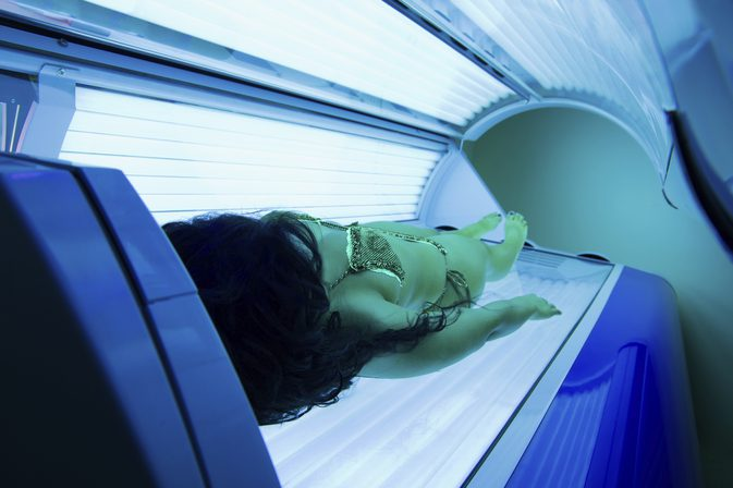 Fit N Tan Tanning bed