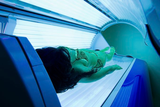 tanning bed tanning lotion