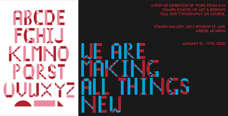 typeface (2019)