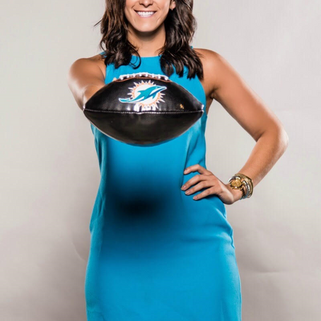 Striving For Success With The Dolphins: The Story of Danielle DeLuca