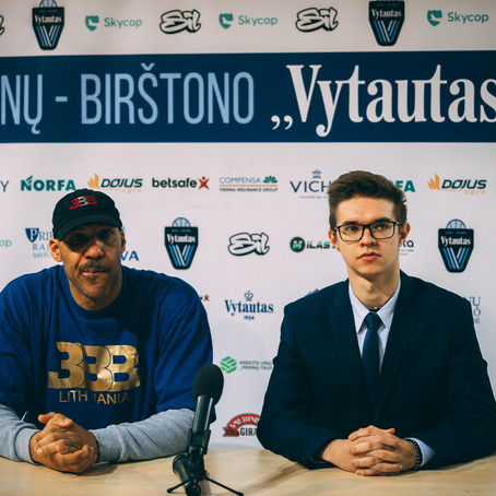 How 21 Year Old Erikas Kirvelaitis Is Helping Drive BC Vytautas Popularity Forward With The Ball Bro