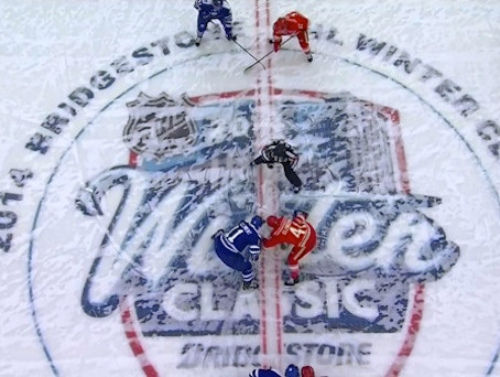 2014 Bridgestone Winter Classic - A HUGE Sponsorship Success