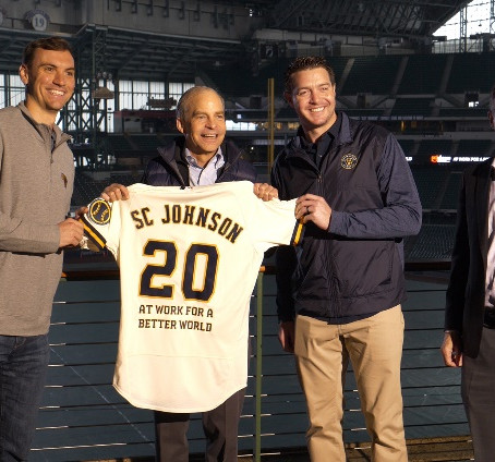 Milwaukee Brewers and SC Johnson Join Forces to Establish First-Of-Its-Kind Recycling Partnership