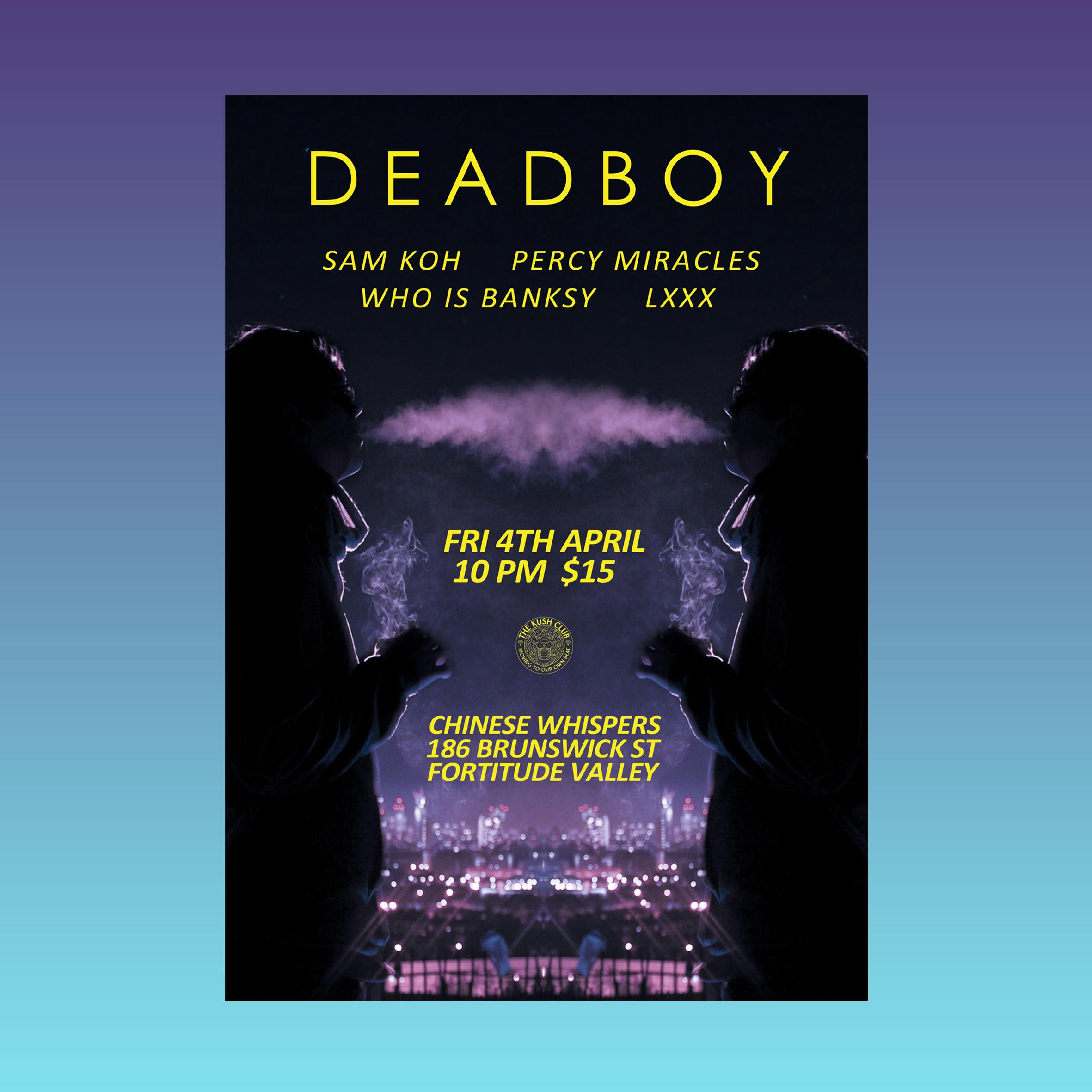 deadboy poster